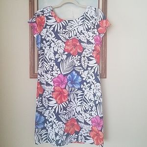 Tommy Bahama Dresses - Tommy bahama blue fuego floral dress